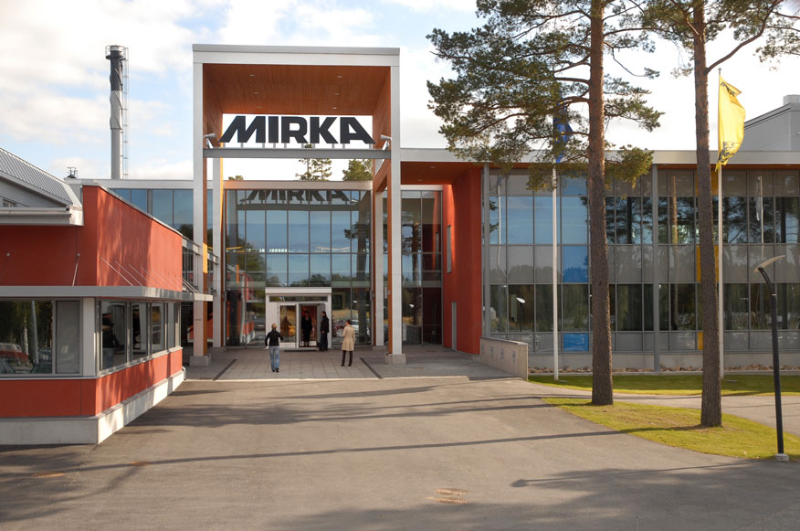 Mirka offers abrasives and tools for surface finishing
