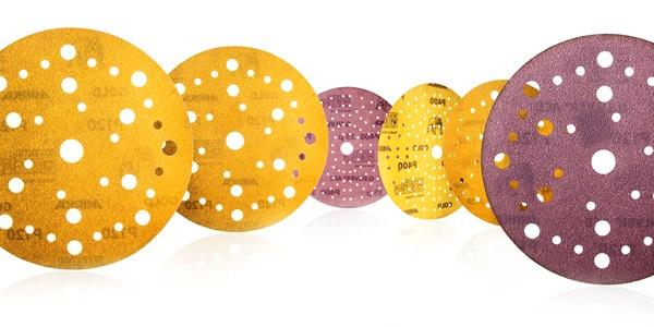 New multihole pattern for Mirka's popular paper abrasives
