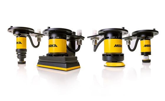 Mirka introduces new robotic sanders and polishers for automation