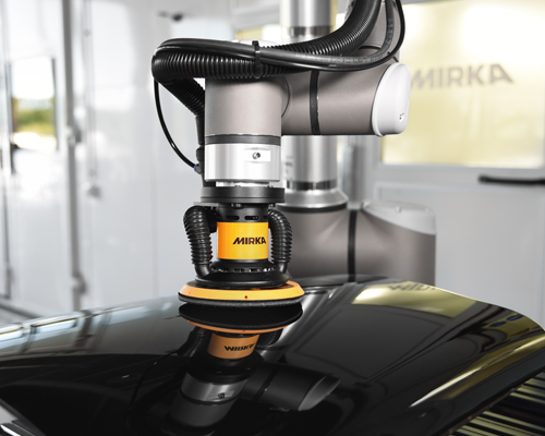 New Mirka AIROS is the first smart electric sander