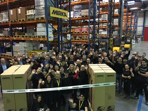 Grand Opening of Mirka's Newest Subsidiary in Belgium