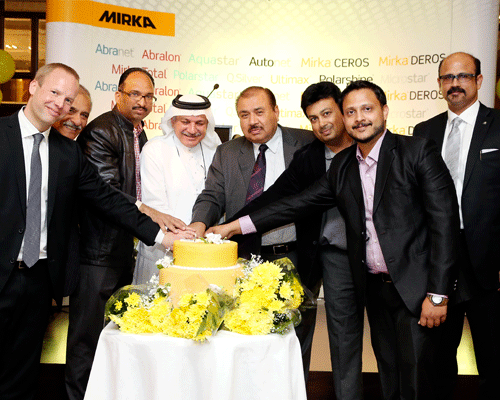 Mirka Middle East FZCO, opened in Dubai