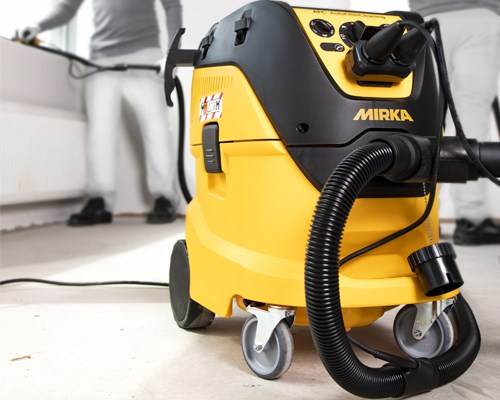 Move up a size with new dust extractor by Mirka