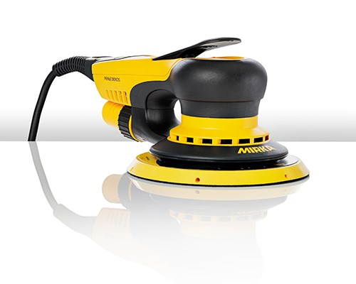 Award-winning Mirka<sup>®</sup> DEROS now with vibration sensor