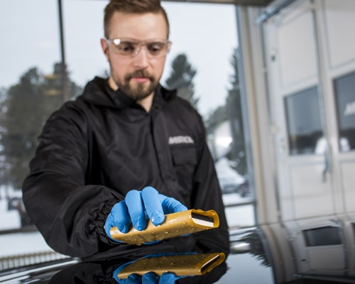 Fast and flexible hand sanding with WPF Next Gen