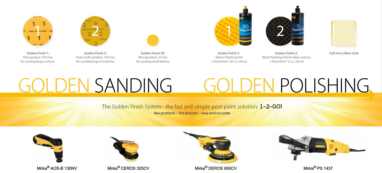 Mirka Golden Finish