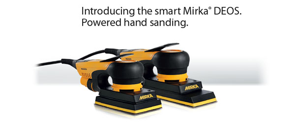 Introducing the smart Mirka DEOS