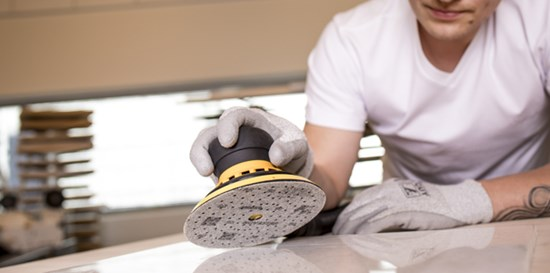 Mirka's new abrasive Novastar tackles demanding surfaces with unexpected ease