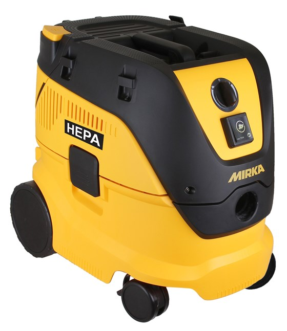New HEPA Certified Dust Extractor