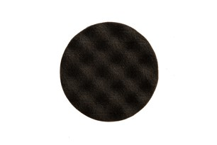 Polishing Foam Pad 85x25mm Black Waffle, 2/Pack