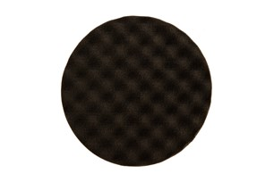 Polishing Foam Pad 150x25mm Black Waffle, 2/Pack