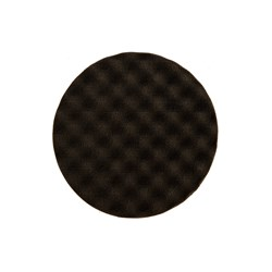 Golden Finish Pad-2 155x25mm Sort Vaflet, 2/pk.