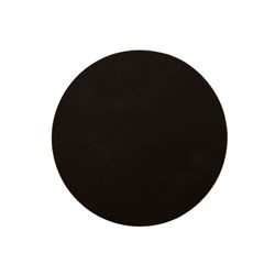 Polishing Foam Pad 200x25mm Black Flat, 2/Pack