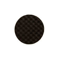 Golden Finish Pad-2 85x25mm Black Waffle, 2/Pack