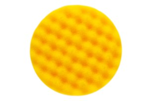 Golden Finish Pad-1 155x25mm Yellow Waffle, 2/Pack