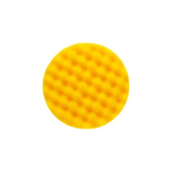 Golden Finish Pad-1 85x25mm Yellow Waffle, 2/Pack
