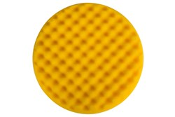Polishing Foam Pad 200x35mm Yellow Waffle, 2/Pack