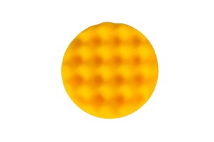 Polishing Foam Pad 85x25mm Yellow Waffle, 20/Pack