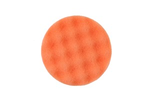 Polersvamp 85x25mm Orange Våfflad, 2/frp