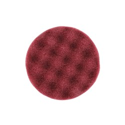 Polersvampe 85mm Vaflet Burgundy 20/pk.