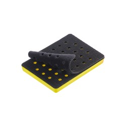 Backing Pad 75x100mm Grip 33H Medium