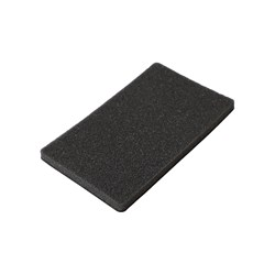 Soft Hand Pad 74x122mm 7mm Grip, 2/frp.