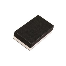 Sanding Block 70x125mm Grip 2-Sided Soft/Hard