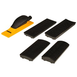 Sanding Block Kit 70x198mm Grip 40H Yellow