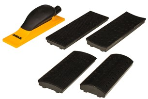 Kit cale aspirante 4 en 1 70x198mm grip 40T jaune