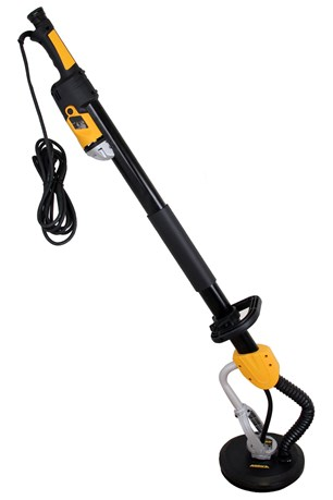 Miro 955 Wall Sander 225mm Grip 230V, Yellow