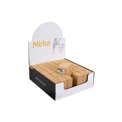 Sanding Block Cork Display 100x60x40mm, 35/Pack