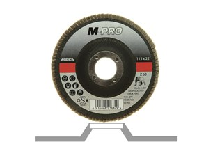 Flap Disc M-PRO 115x22mm ZIR Flat Thick 60