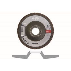 Lamelrondel M-FIX 115x22mm ALO 80