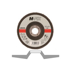 Lamelrondel M-FIX 127x22mm ZIR 60