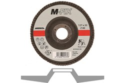 Lamelrondel M-FIX 127x22mm ZIR 80