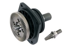 Drive Shaft Compl No 55 + Pinion No 53 for PS 1437