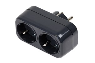 Mirka 2-Way Electric Adapter 230V EU, Black