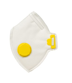 Dust Mask  FFP-2V, 10/Unit