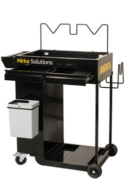 Mirka Smart Cart/Solution Trolley, 1/Pkg