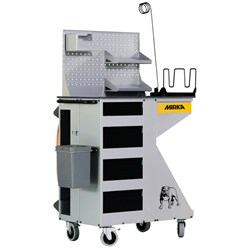 Mirka Solution Trolley con Pneu e Elet EU