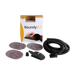 Kit cale ROUNDY 150mm + 15 disques ABRANET