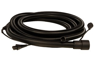 Hose 27mm x 5,5m with Integrated Cable CE 230V