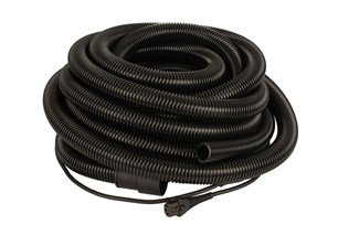 Hose 27mm x 10m with Integrated Cable US 110-120V