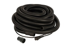 Hose 27mm x 10m with Integrated Cable CE 230V