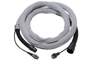 Funda Mirka + Cable CE 230V + Tubo flexible 4m