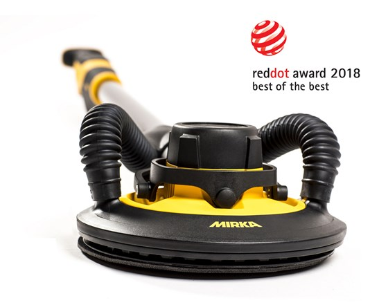 Red Dot Award til Mirka for banebrytende design