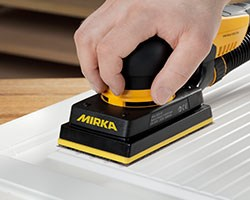 Mirka tool and abrasive evolution comes to KBB