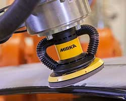 Mirka launches first global Automated Industrial Programme to enable advanced robotic surface finish solution for industrial customers
