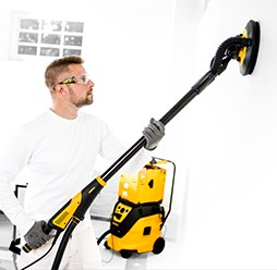Mirka's new dual voltage LEROS has the convenience factor for decorators