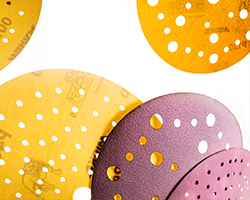 New multi-hole patterns for Mirka's popular paper abrasives